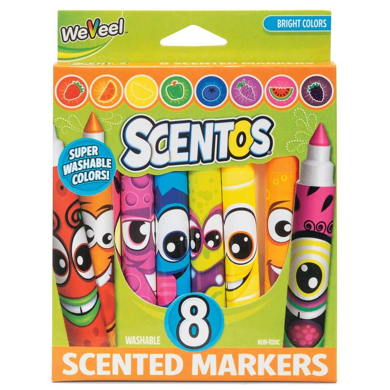 40605S-SCENT Sc. Classic Markers 8ct