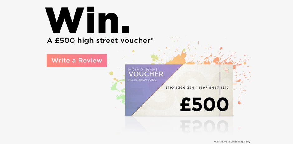 Win a £500 shopping voucher